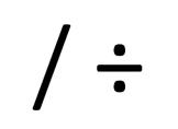 Klavyede Bölme (Bölü) İşareti Nasıl Yapılır?