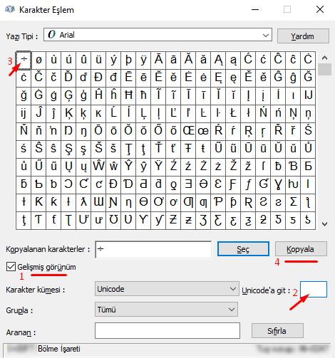 Klavyede Bölü İşareti Nasıl Yapılır? Bilgisayarda Bölme İşareti