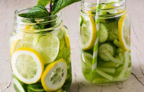 Limon ve Salatalık Suyu Tarifi