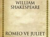 Romeo ve Juliet Kitap Yorumu - Willam Shakespeare