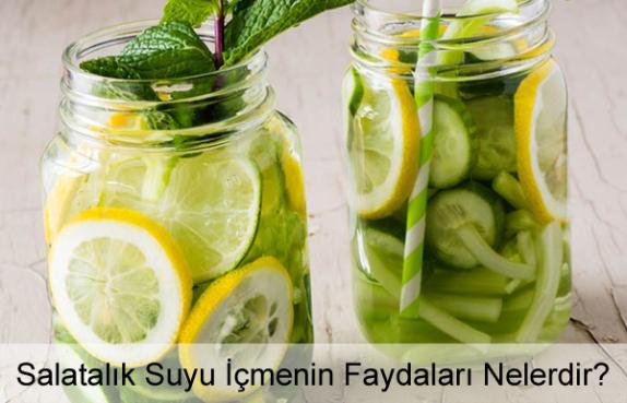 Salatalık Suyu İçmenin Faydaları Nelerdir?