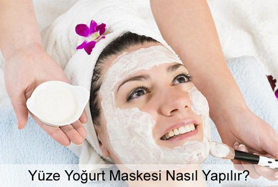 Yüze Yoğurt Maskesi Nasıl Yapılır?