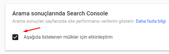 Search Console ile Aramadaki Site Performansı Verilerini Kapatalım