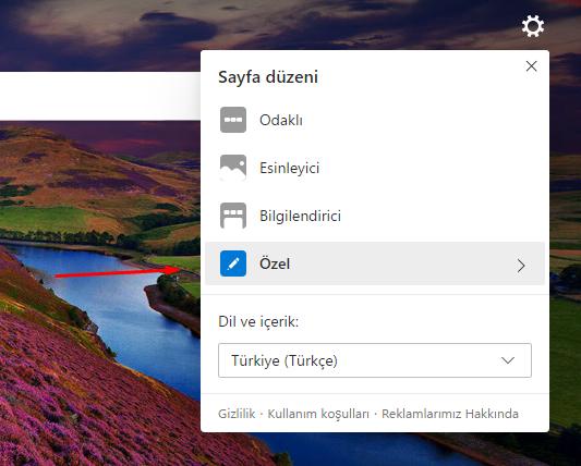 """Microsoft Edge Chromium """"Günün Resmi""""ni Kaldıralım"""