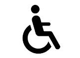 Klavyede Engelli (Tekerlekli Sandalye) İşareti