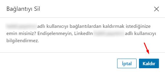 LinkedIn Bağlantı Kaldırma Nasıl Yapılır?