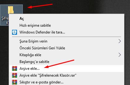 WinRAR Dosya Şifreleme Nasıl Yapılır? (Resimli Anlatım)