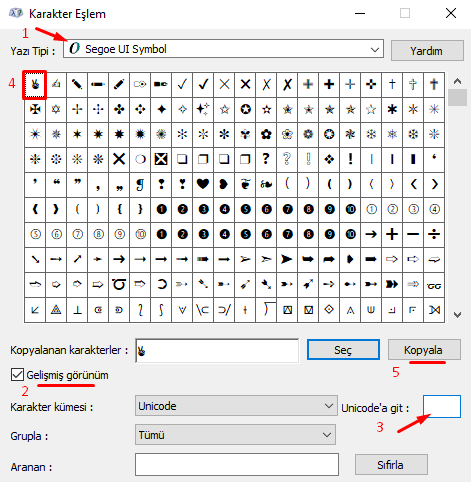 Bilgisayarda Klavyede Zafer İşareti Nasıl Yapılır?