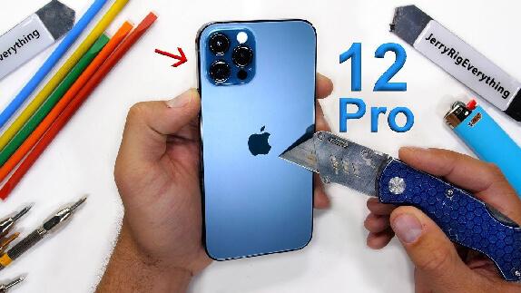 iPhone 12 Pro Dayanıklılık Testi (Video)