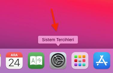 MAC Seçim Rengi Değiştirme