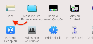 iMac'te Seçim Rengini Değiştirmek