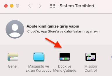 Apple MAC Dock Konumu Değiştirme
