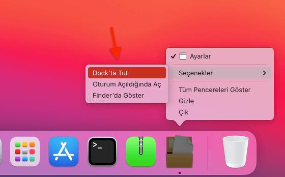 Apple Bilgisayar Dock Uygulama Eklemek