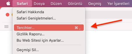 Apple MAC Safari Dosya İndirme Konumunu Değiştirmek