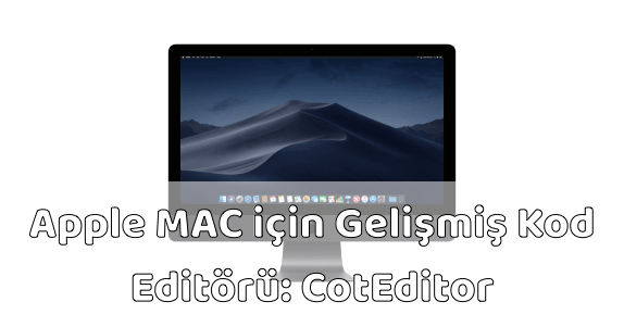 MAC için Ücretsiz Kod Editörü