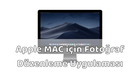 MAC Fotoğraf Düzenleme Uygulaması