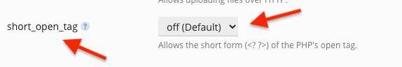 """PHP """"short_open_tag"""" Nedir? Plesk'te Nasıl Kapatılır?"""