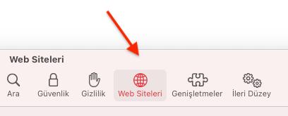 Apple Safari'de Mikrofon İsteğini Kapatma Nasıl Yapılır?