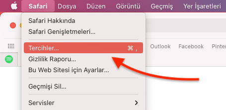 Apple Safari'de Web Sitesi Simgelerini Gizleme Nasıl Yapılır?