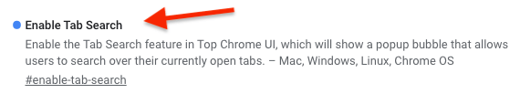 Chrome Sekme Ara (Tab Search) Kapatma Nasıl Yapılır?