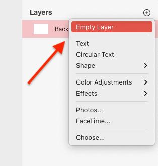 Pixelmator Pro Yeni Layer Açma Nasıl Yapılır?