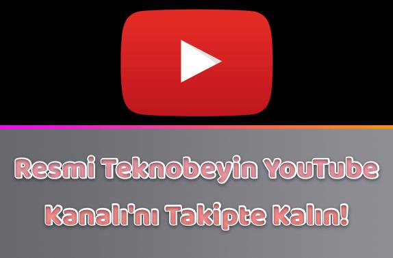 Resmi YouTube Kanalımıza Abone Olmayı Unutmayın