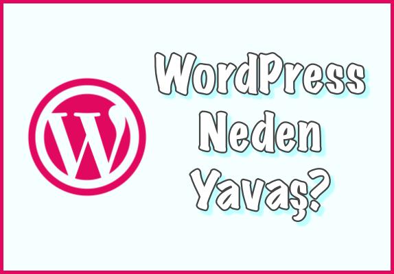 WordPress Neden Yavaş Sorusunun Cevabı