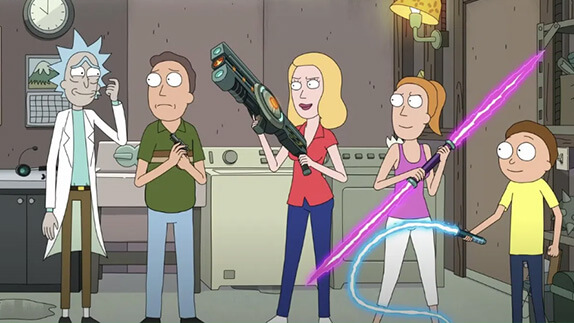 Rick and Morty 5. Sezon Final Fragman İzle