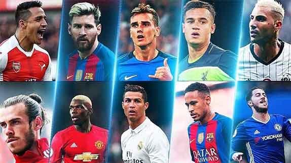 Dünyanın En Çok Kazanan Futbolcuları Listesi
